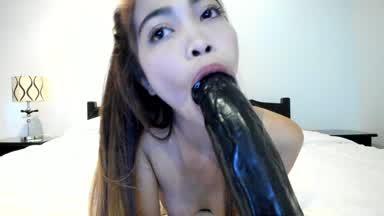 Blowjob (Big Black Dildo)